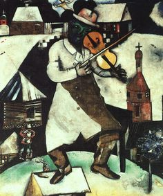 Marc Chagall : Le violoniste (1912-1913)