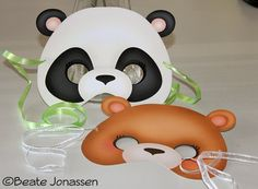 Diy Panda Mask By Cutememories On Etsy 3 00