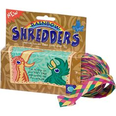 Planet Pleasures Rainbow Shredders Straight Ribbon Bird Toy | Petco