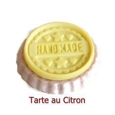 Cire Parfumée Tarte au Citron Tartelette Cire Végétale Naturelle Parfum à Fondre Parfum d'ambiance : Luminaires par fondants-de-cire-parfumes-fleur-artifice