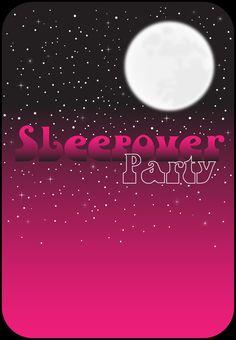 sleepover template