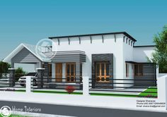 978 sq ft Low cost House Plan | Bedroom small, Bedrooms and Plan design