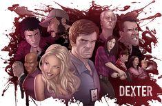 Dexter: The Dark Defender by PatrickBrown.deviantart.com