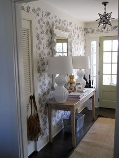 consider how to make your entry way appealing and welcoming