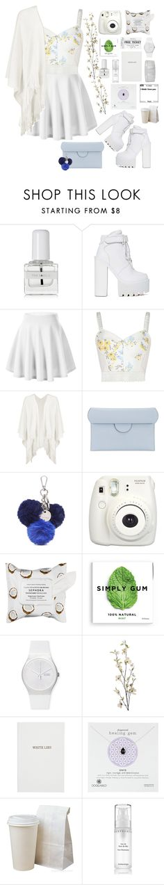 """Untitled #205"" by helinkya ❤ liked on Polyvore featuring tenoverten, Jeffrey Campbell, STELLA McCARTNEY, Boohoo, Roksanda, Nine West, Fujifilm, Sephora Collection, Swatch and Pier 1 Imports"
