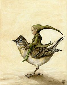 Skylark and Pixie, The Fantasy Art of Marc Potts