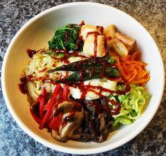 Bibimbap (Mixed rice with vegetables)
