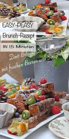 Du Suchst noch ein schnelles und tolles Frühstücksrezept? Macht doch jetzt zum ersten Adventsonntag oder zum Weihnachtstag, einfach diese weihnachtlichen leckeren Zimt-Brioche-Sticks mit frischen Beeren und Sirup für deine Liebsten. Mit meinem schnell gemachten und köstlichen Rezept. #brioche #briocherezepet #frühstück #brunch #weihnachten #advent #einfach #schnell #leicht #deutsch #mitfrischerhefe #sonntagsistkaffeezeit Cereal, Advent, Breakfast, Foodblogger, Texts, Brioche, Syrup, Brunch Recipes, Chef Recipes
