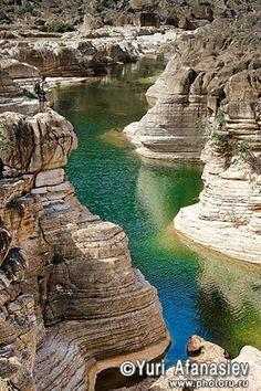 Йемен, архипелаг Сокотра (Socotra). Природный бассейн в каньоне. Фототур 2010