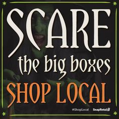 Scaree the big boxes