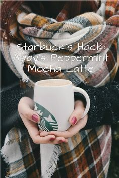 Tis the season...for everything minty to disappear from coffee shop's menus and  credit card bills from Christmas past roll in. Save money with my copycat Starbuck's hack peppermint mocha recipe.