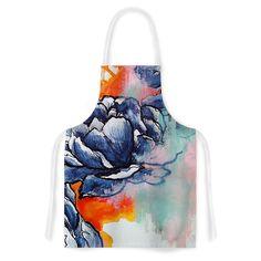 Kess InHouse Sonal Nathwani 'Bloom' Artistic Apron