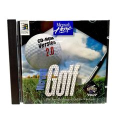 Microsoft Golf 2.0 Cd Rom sports Game With Product Key Microsoft windows 95 vgc Windows 95, Game Sales, Sports Games, Microsoft Windows, My Ebay, Golf, Challenges, Shop, Sports