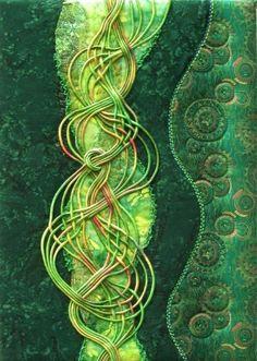 MATIN LUMINEUX: Sophie Gelfi : Une artiste textile