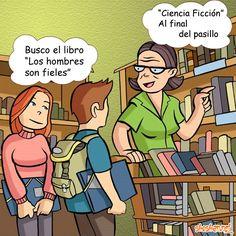 Humor de bibliotecaria un lunes por la mañana