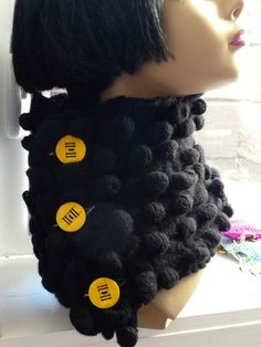 Here s a quick easy and eye catching gift a texturized scarflet