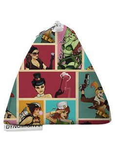 """Bombshells"" Stash Bag by Dynomighty (Multi) #inkedshop #bombshells #backpack #stashbag #pinup #badass"