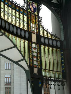 Art Nouveau Stained