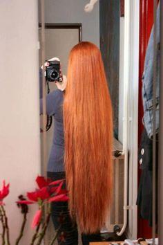 I've pictured Charley with red hair. Long Red Hair, Super Long Hair, Beautiful Long Hair, Gorgeous Hair, Amazing Hair, Silky Smooth Hair, Rapunzel Hair, Ginger Hair, Hair Photo