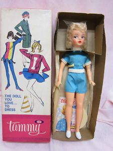 Tammy Doll by Ideal vintage doll. I had her. I just wanted a freaking Barbie but never got one.