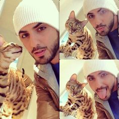 Omar Borkan's 100 Latest, Hottest and Most Stylish Pictures Men With Cats, Moslem, Arab Men, Picture Outfits, Outfit Trends, Raining Men, Attractive Men, Male Beauty, Crazy Cat Lady