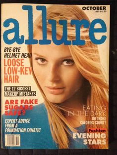 October 1995 cover with seventeen-year-old Bridget Hall