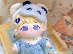 Kawaii Doll, Kawaii Plush, Pretty Dolls, Stuffed Animals, Otaku, Korea, Girly, Felt, Teddy Bear