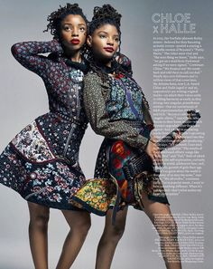 Chloe and Halle Bailey are having the best week ever! Description from…