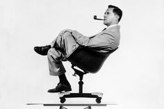 The manly designer, Charles Eames.