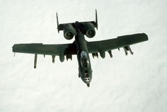 Air Force Thunderbolt II aircraft takes part in a mission during Operation Desert Storm. The aircraft is armed with Sidewinder missiles, Maverick missiles and Mark 82 bombs. Us Military Aircraft, Military Helicopter, Operation Desert Shield, Turbofan Engine, Attack Helicopter, Army Veteran, Us Air Force, War Machine, Military History