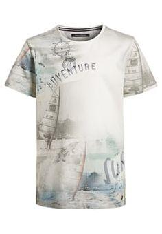 Marc O'Polo - Print T-shirt - light grey