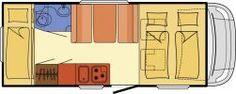 Wohnmobil Dethleffs Trend A 5887 - Komplettausstattung - ID: HC1929880 #Dethleffs #Trend #A 5887 #Wohnmobil - Caravans - Wohnwagen & Reisemobile