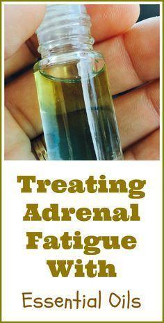 essential oils good for adrenal glands