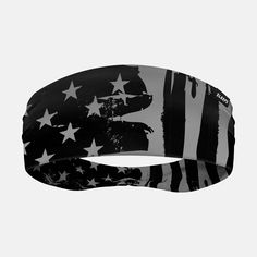 Brushes Tactical USA Flag Double-Side Wide Headband