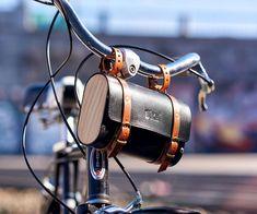 Leather Bicycle, Bicycle Bag, Leather Bag, Bicycle Accessories, Leather Accessories, Cycling Bag, Wooden Bag, Bike Handlebars, Bike Life