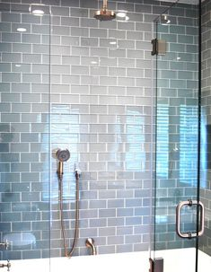 Clear Glass For Shower Niche Bathroom Ideas Pinterest