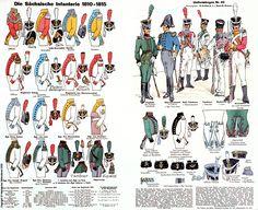 Saxony; Infantry, 1810-15
