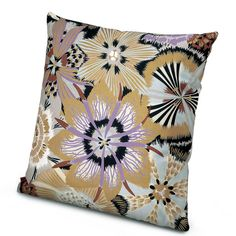 Missoni Home Golden Age Kandahar Cotton Throw Pillow