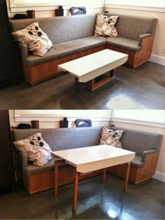 IKEA Hackers Hacker help Coffee to Dining convertible table