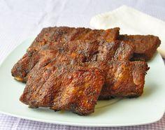 Foolproof Dry Rubbed Oven Ribs - perfect ribs for your Super Bowl party! - Foolproof Dry Rubbed Oven Ribs – perfect ribs for your Super Bowl party! Pork Short Ribs, Dry Rub For Ribs, Baked Ribs, Baked Pork, Oven Baked, Ribs In Oven, Dry Rub Recipes, Pork Rub, Salsa Barbacoa