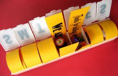 7 day pill box gifts for teachers