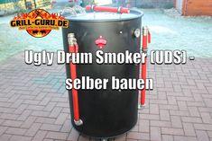 Einen Ugly Drum Smoker selber bauen ist gar nicht so schwer. Mit unserer Schritt für Schritt Baulanleitung kann man einen UDS in wenigen Stunden bauen. Uds Smoker, Smoker Ribs, Barbecue Smoker, Best Outdoor Electric Grill, Electric Grills, Ugly Drum Smoker, Charcoal Smoker, Bbq Island, Up In Smoke