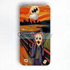 Scream Batman And Joker HTC One M7 Case | casefantasy