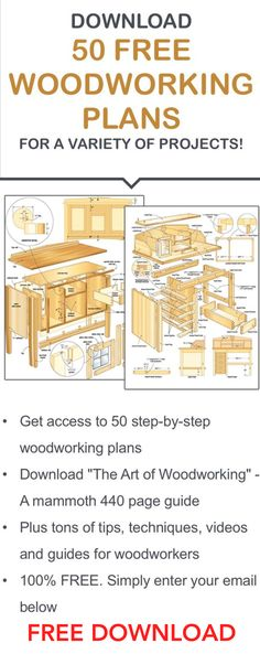 Free Downloadable Pdf Woodworking Plans Plans Diy Free Download