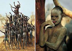 Impresionantes Imágenes de una TRIBU de Szudánban