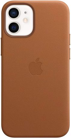 Apple Leather Case With MagSafe (For IPhone 12 Mini) - Saddle Brown Tech Accessories, Cell Phone Accessories, Amazon Mobile, Amazon Gadgets, Buy Apple, Design Case, Apple Products, Leather Case, Iphone Cases