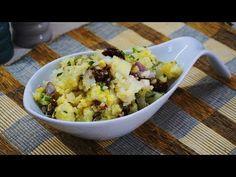 Πατατοσαλάτα νηστίσιμη πεντανόστιμη! - Potato salad   Greek Cooking by Katerina - YouTube Greek Cooking, Potato Salad, Salads, Good Food, Potatoes, Ethnic Recipes, Youtube, Tahini, Potato