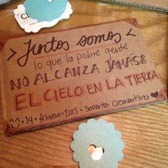 ***Juntos somos...  #señoritaClementinadelAmor #love #quotes #lettering