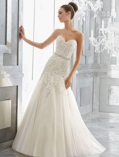 ltbridal+o+linie+prințesă+fara+bretele+de+tren+catedrala+rochie+de+mireasa+organza+(937254)+–+USD+$+78.29