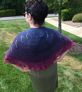 Ravelry: To the Nines pattern by N. Bishop.  Made this and I absolutely will be making another one.  Next time I'll do the garter version.